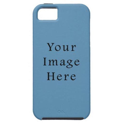 Plantilla azul del espacio en blanco de la tendenc iPhone 5 Case-Mate cárcasas