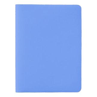 Plantilla azul funda para libreta y libreta extra grande moleskin