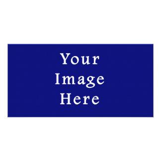Plantilla azul marino de Jánuca Chanukah Hanukah Tarjetas Con Fotos Personalizadas