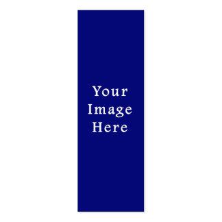 Plantilla azul marino de Jánuca Chanukah Hanukah Tarjetas De Visita Mini