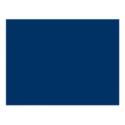 Plantilla azul marino del fondo del color sólido 0 postales