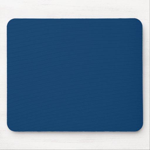 Plantilla azul marino del fondo del color sólido alfombrillas de ratón
