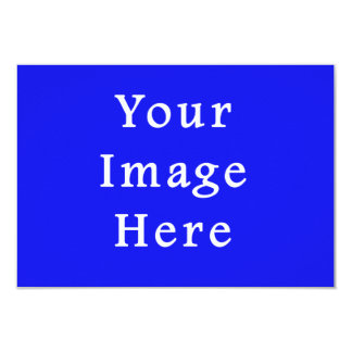 """Plantilla azul saturada de Jánuca Chanukah Hanukah Invitación 3.5"""" X 5"""""""