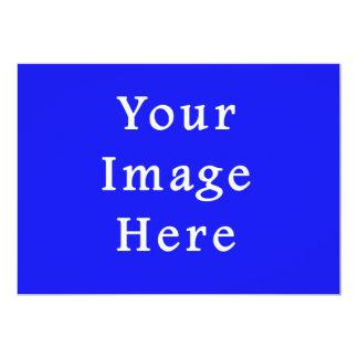 """Plantilla azul saturada de Jánuca Chanukah Hanukah Invitación 5"""" X 7"""""""