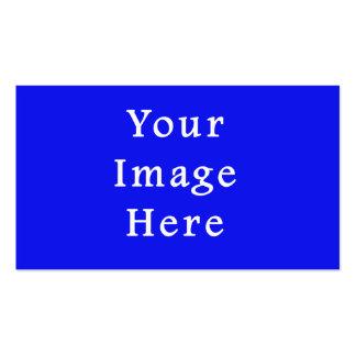 Plantilla azul saturada de Jánuca Chanukah Hanukah Tarjetas De Visita