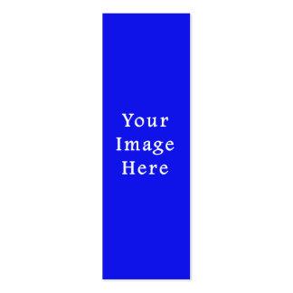 Plantilla azul saturada de Jánuca Chanukah Hanukah Tarjetas De Visita Mini