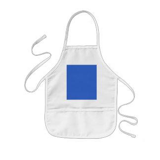 plantilla azul sólida del color de fondo 3366CC Delantal