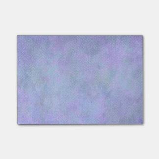 Plantilla azul violeta del fondo del papel de la post-it notas
