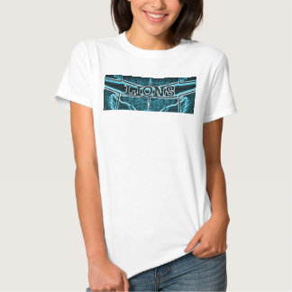 Plantilla básica de la camiseta de las señoras playera