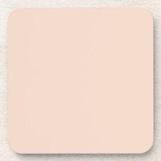 Plantilla beige del espacio en blanco de la tenden posavasos