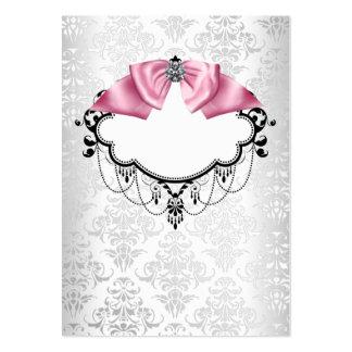 Plantilla blanca elegante de la tarjeta de visita