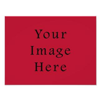 Plantilla brillante carmesí del espacio en blanco fotografias
