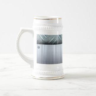 Plantilla cepillada de la placa del diamante del jarra de cerveza