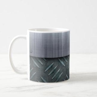 Plantilla cepillada de la placa del diamante del taza clásica