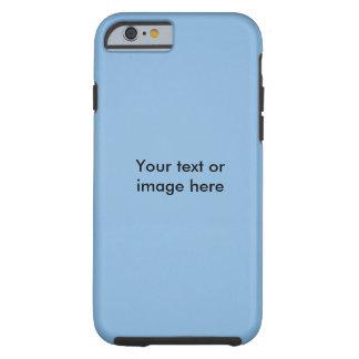 Plantilla clara de la foto del cielo azul funda para iPhone 6 tough