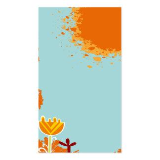 plantilla colorida linda fresca de la tarjeta de v tarjetas de negocios
