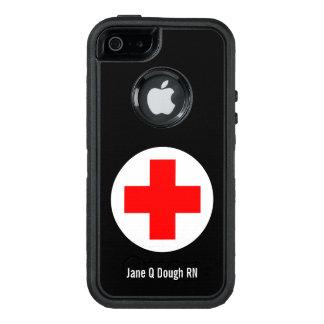 Plantilla conocida de la enfermera funda otterbox para iPhone 5/5s/SE