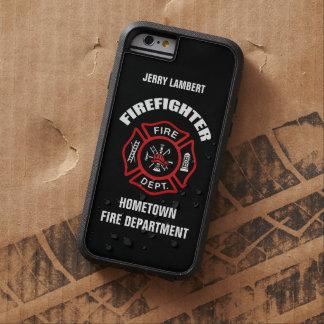 Plantilla conocida del bombero funda tough xtreme iPhone 6