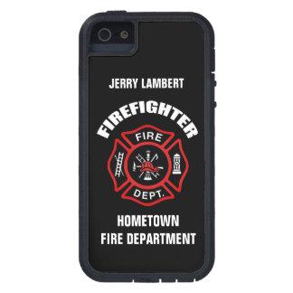Plantilla conocida del bombero iPhone 5 funda