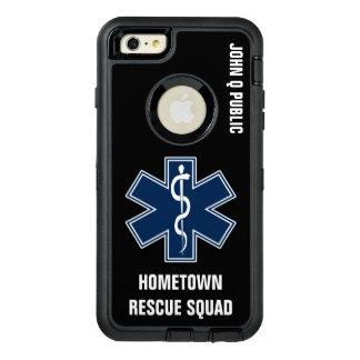 Plantilla conocida del paramédico EMT EL ccsme Funda Otterbox Para iPhone 6/6s Plus