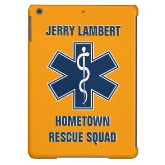 Plantilla conocida del paramédico EMT Funda Para iPad Air