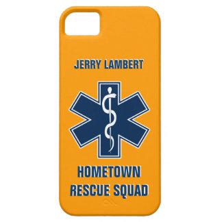 Plantilla conocida del paramédico EMT Funda Para iPhone 5 Barely There