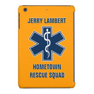 Plantilla conocida del paramédico EMT Fundas De iPad Mini Retina