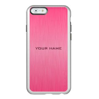 Plantilla conocida moderna rosada funda para iPhone 6 plus incipio feather shine