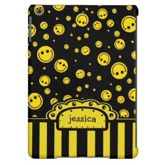 Plantilla conocida sonriente de PolkaDot Funda Para iPad Air