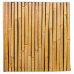Plantilla de bambú hawaiana tropical del fondo servilleta de papel