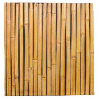 Plantilla de bambú hawaiana tropical del fondo servilletas