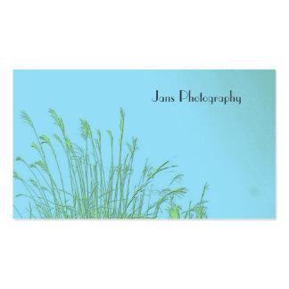 Plantilla de Businesscards, hierba de la mala Tarjetas De Visita