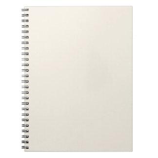 Plantilla de color topo del espacio en blanco de l note book