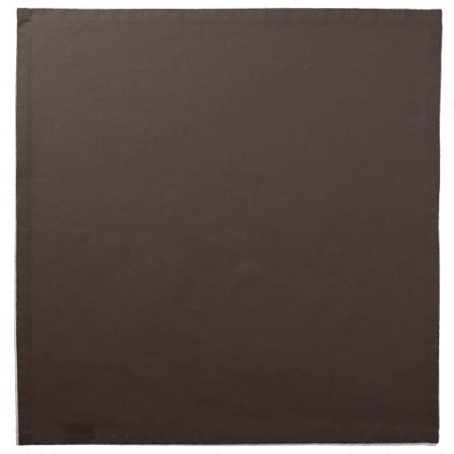 Plantilla de color topo del espacio en blanco de l servilleta