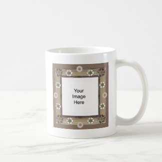 Plantilla de costura del entusiasta taza de café