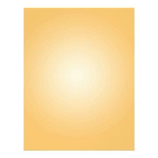 Plantilla de encargo: Blanco anaranjado radial de  Flyer Personalizado