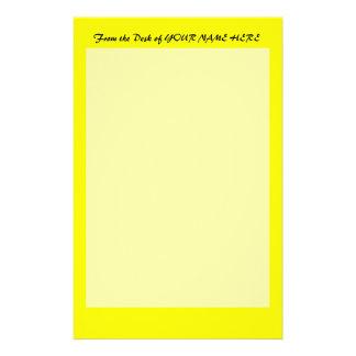plantilla de encargo brillante del fondo del amari papeleria de diseño