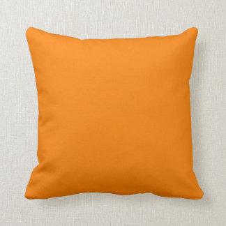 plantilla de encargo brillante del fondo del naran almohada