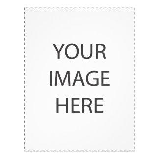 Plantilla de encargo de la imagen flyer a todo color