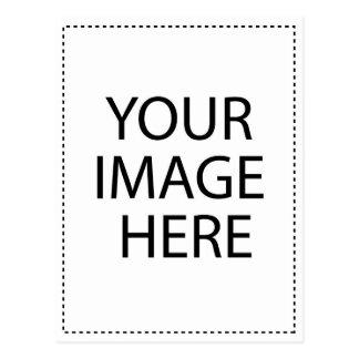 Plantilla de encargo de la imagen tarjetas postales