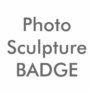 Plantilla de encargo del espacio en blanco de la pin fotoescultura