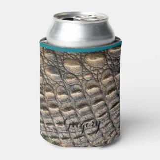 Plantilla de encargo del monograma de la piel del enfriador de latas