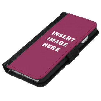 Plantilla de encargo DIY de la caja de la cartera Funda Cartera Para iPhone 6