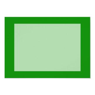 """plantilla de encargo verde del fondo del MED DIY Invitación 5"""" X 7"""""""