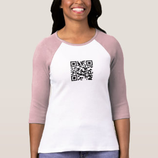 Plantilla de la camiseta del raglán de las señoras