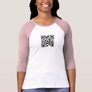 Plantilla de la camiseta del raglán de las señoras remera