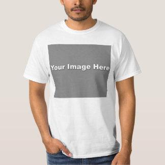 Plantilla de la camiseta del valor playera