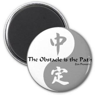 Plantilla de la cuadrilla de Yin Imán Para Frigorifico