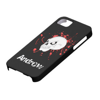 Plantilla de la cubierta del iPhone 5 de EvilSkull iPhone 5 Case-Mate Cobertura