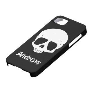 Plantilla de la cubierta del iPhone 5 del cráneo Funda Para iPhone SE/5/5s